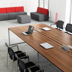 Tables de réunion et de collectivité